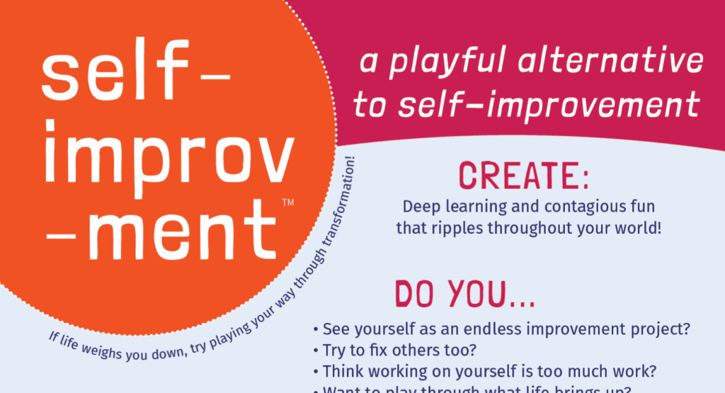 A screen shot of Self-improv-ment.com