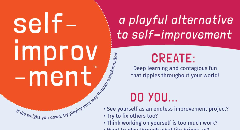 A screen shot of Self-improv-ment.com